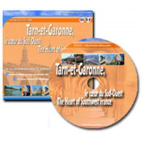 Tarn&Garonne - Guide touristique sur cd-rom